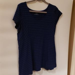 4/$25 Motherhood Maternity striped blouse XL